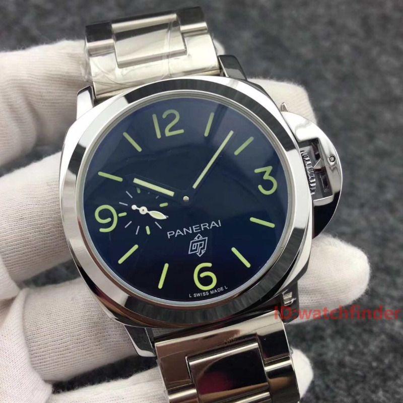 D'affaires de luxe en acier inoxydable automatique bracelet en cuir Mode exquis Montres Hommes sport Montres-bracelets