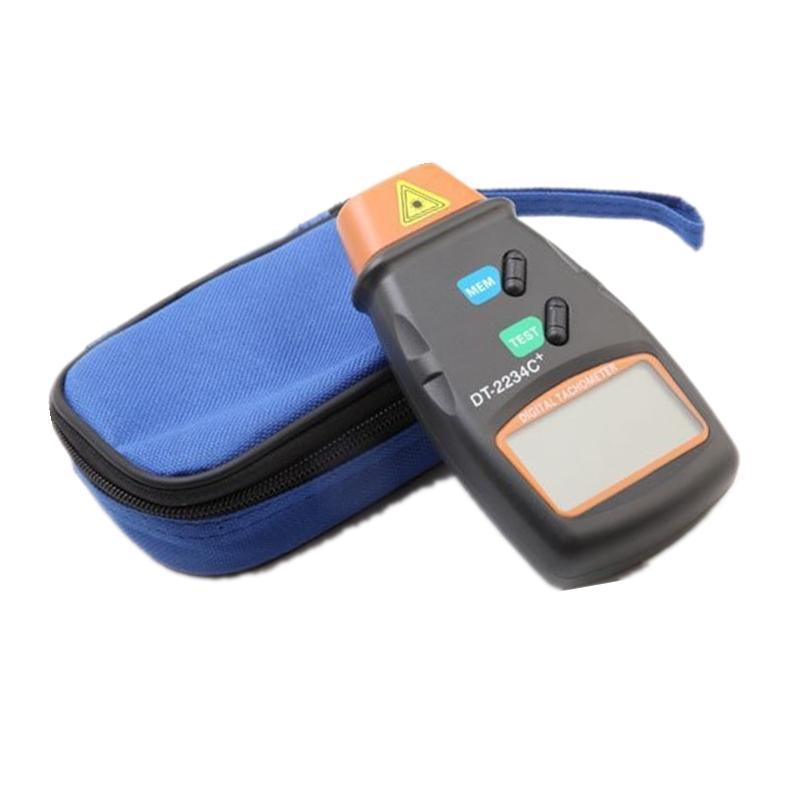 Toptan Temassız LCD Dijital Lazer Takometre 2.5-99,999 RPM Fotoelektrik Hız ölçer Tester
