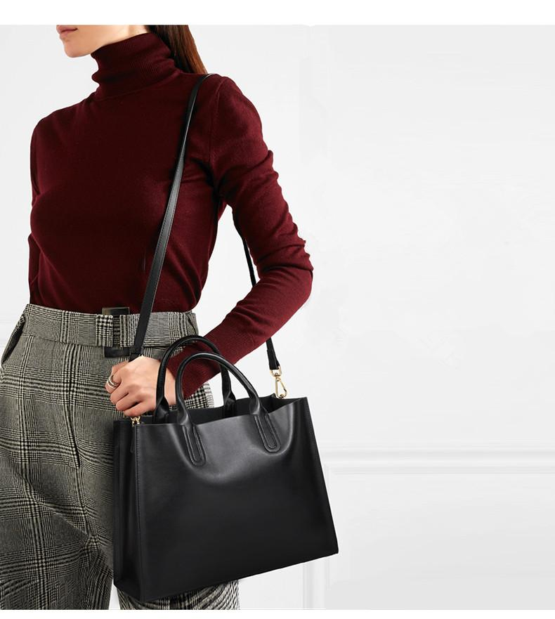 moda donna bag autunno e l'inverno della borsa di modo di grande capacità messenger bag in pelle atmosferica sacchetto delle signore