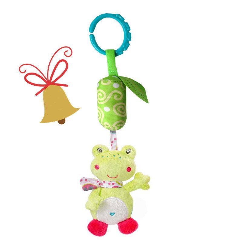 2017 Yeni Bebek Beşik Arabası Cot Buggy Pram Oto Koltuk Çıngıraklar Dangle Oyuncak Bebek çıngırak Cep el çanı Asma Döner Sermaye
