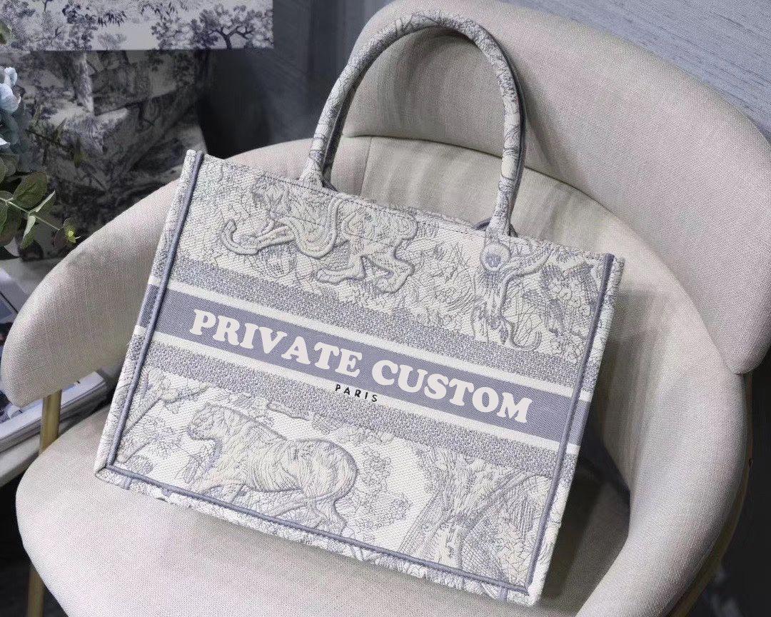 bolso colorido libro totalizadores Bolso del diseñador clásico personalizable calidad 5A nombre impreso superior bolsas de la compra de gran capacidad del bolso bordado