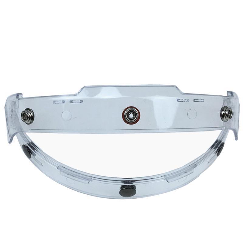 Modulable réglable Bouclier Brim Fixation universelle de base Visor Casque de moto Porte-lentille 3buttons amovible conduite Accessoires