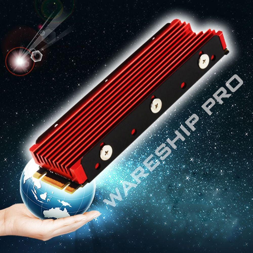 M.2 NGFF 2280 PCI-E의 NVMe를 들어 금속 시트 열 냉각 패드의 새로운 방진의 NVMe NGFF M.2 히트 싱크