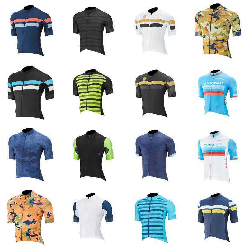 CAPO cicla Jersey asciutto rapido respirabile manica corta in MTB Abbigliamento Maillot Ropa Ciclismo Abbigliamento C630-25