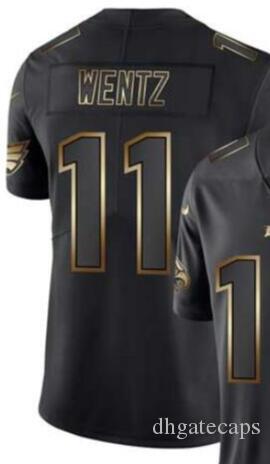 Vapor ОГРАНИЧИВАЯСЬ черный золотой Джерси Мужской Филадельфия 10 11 86 Джерси рубашки Всех трикотажных изделий футбола команда американских