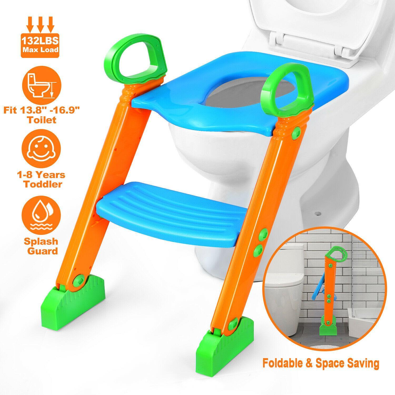 아이 유아 변기 의자에 대한 단계 발판 사다리와 어린이 화장실 교육 좌석