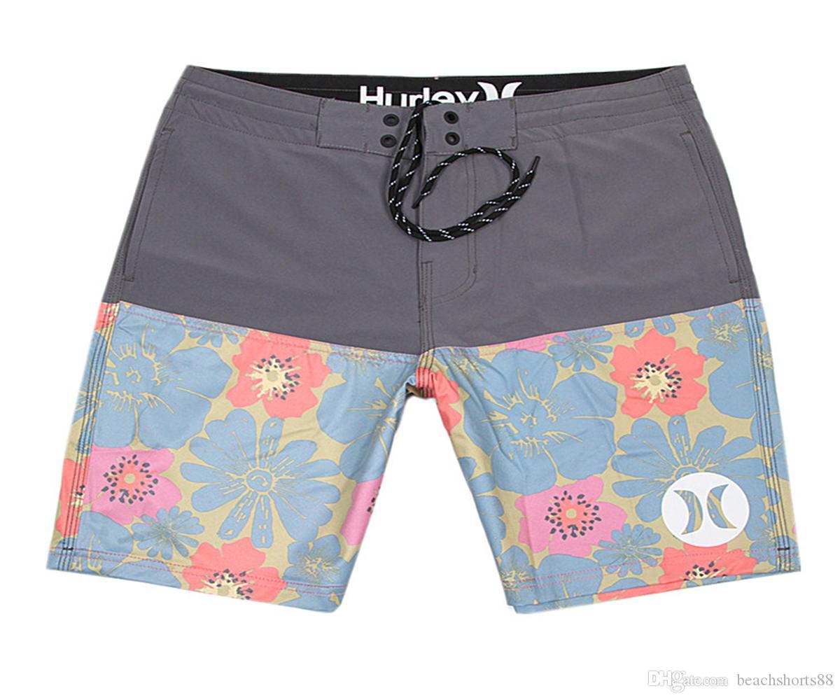 Awesome 4-Way Stretch Board Shorts Mens Beachshorts Bermudas Shorts Swim Trunks Swim Pants Swimwear Swimming Trunks Quick Dry Surf Pants NEW