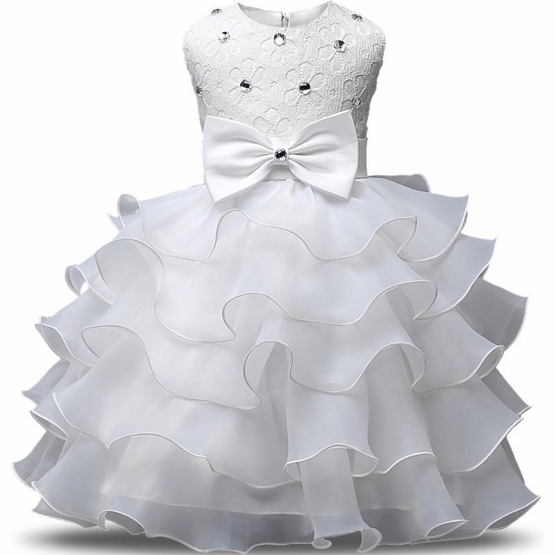9 Farben Einzelhandel Blumenmädchenkleider kleine Mädchen Festzug Kleider Kinder arbeiten Bogen Diamant-formales Kleid-Kugel-Prinzessin Kleid Kinderkleidung