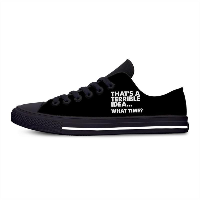 Bu Sıcak Moda Popüler rahat ayakkabı erkekler Kadınlar İçin orijinal Nefes Hafif Sneakers 3D Print Soğuk berbat bir fikir