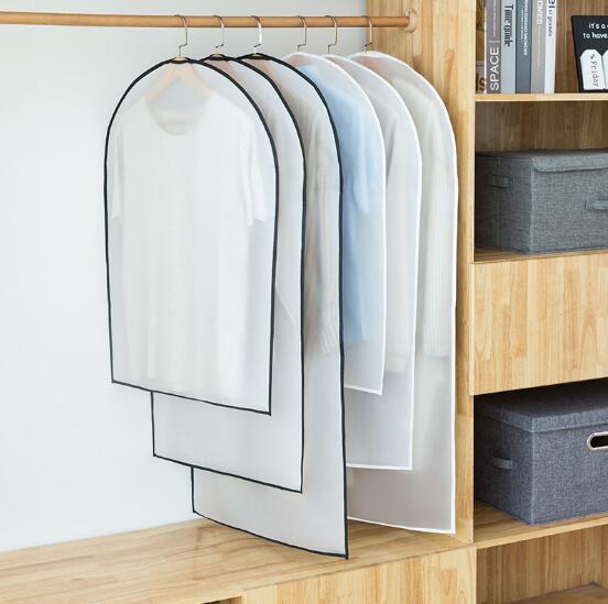 Şeffaf giyim toz kapağı aşınmaya dayanıklı yıkanabilir Peva toz kapağı