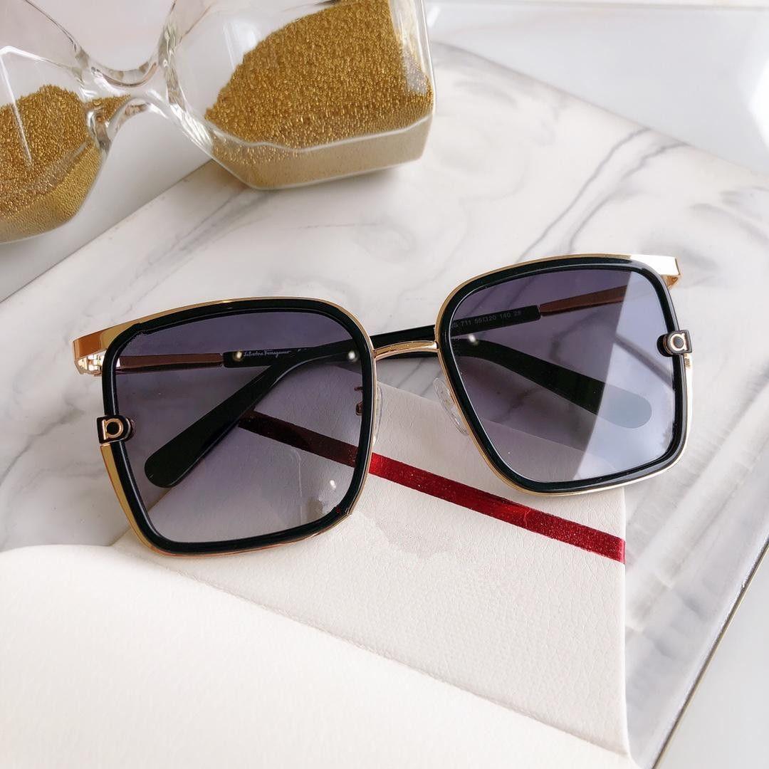 فاخر جديد نظارات تصميم معدن الرجال النظارات الشمسية خمر END 8 الاسلوب المناسب بدون إطار مربع الأشعة فوق البنفسجية 400 عدسة مع الدعوى الأصلية