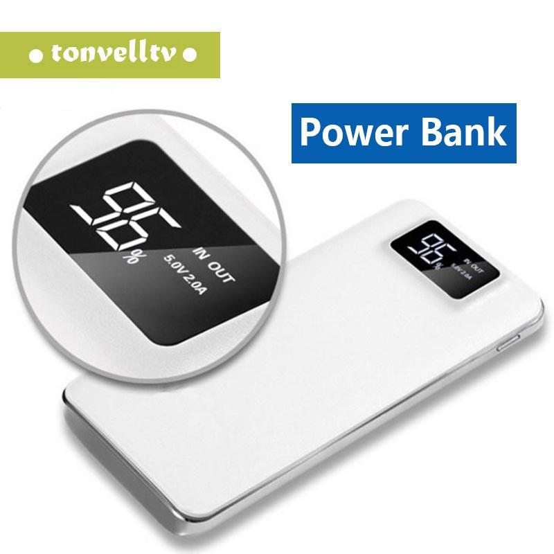 20000mAh Power Bank Portable External Emergency Backup Battery Charger Universal Mobile Phone PowerBank USB Chargers Pack for Cell Phones