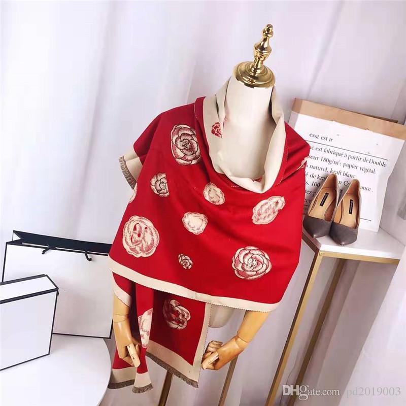 2020 Nueva manera 4 colores mezclados cachemira bufanda de tela mujeres de la moda suave sensación de mantener el calor del envío libre de la bufanda del mantón