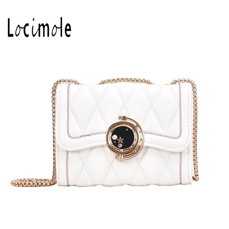 Locimole Petit Femmes Sacs diamant Lattice sac à bandoulière chaîne Messenger Shoulder Bolsa Feminina BIW376 PM49