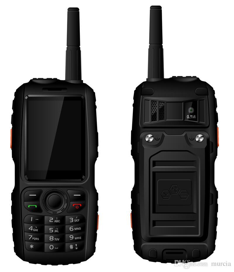 A18 IP67 Rugged Waterproof Phone Android GPS Zello PTT 3G Network intercom GSM Senior old man Mobile phone mini F22 F25