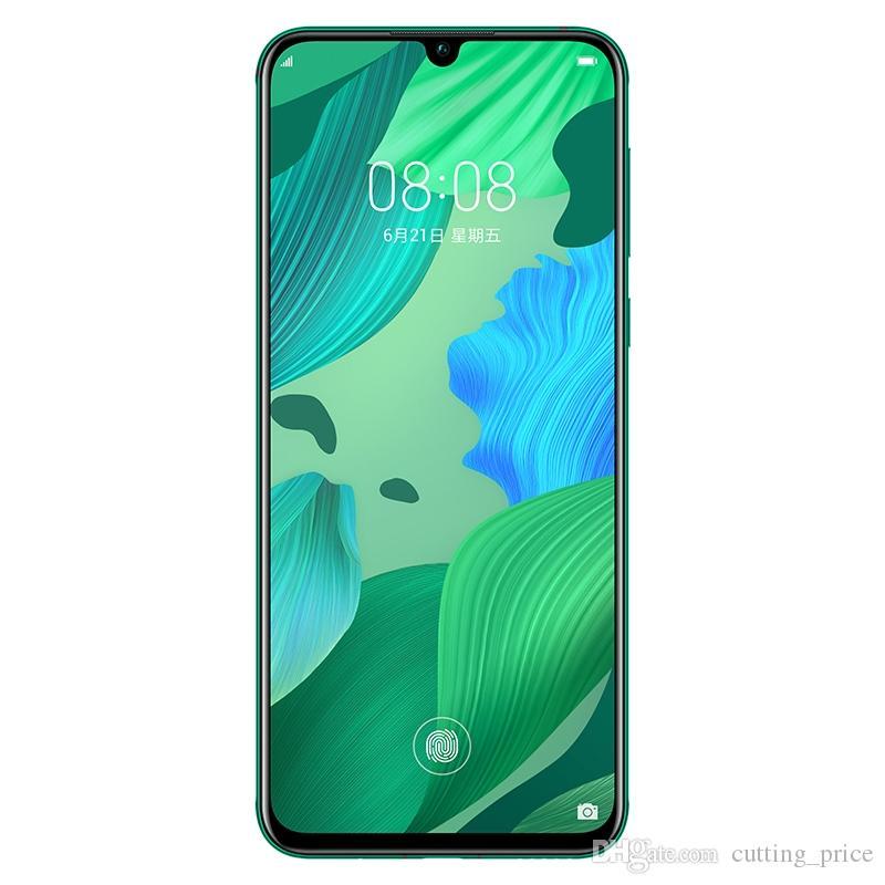 Original Huawei Nova 5 Pro 4G LTE Cell Phone 8GB RAM 128GB 256GB ROM Kirin 980 Octa Core 6.39 inch Full Curved Screen 48MP NFC Mobile Phone