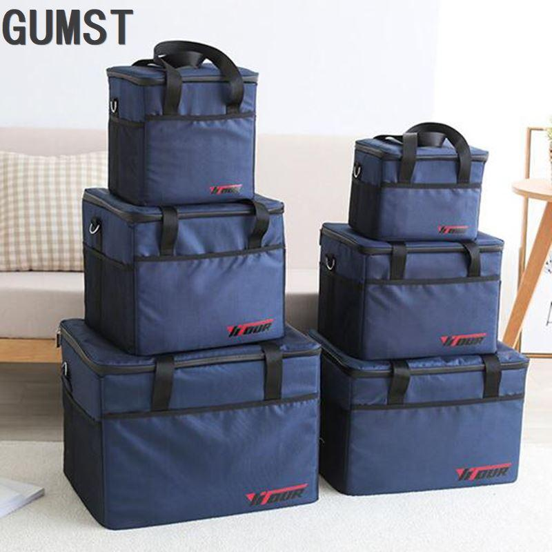 10L 28L 47L 70L large cooler bag waterproof big lunch picnic box ice pack thermal vehicle insulation shoulder thermo cool bag