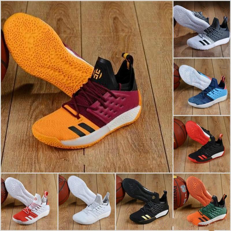 2019 Neue 15 Farben MVP Harden Vol. 2 MVP Männer Basketball-Schuh-Mode Sport Multi Farben-Qualitäts-Indoor- und Outdoor-Turnschuhe