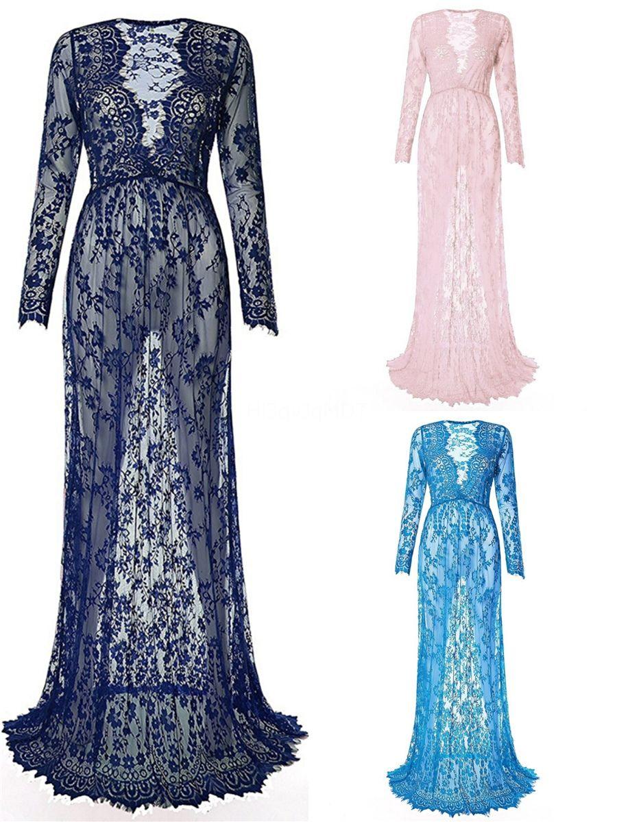 Manga larga de los vestidos de novia corte sirena V del cuello atractivo de los vestidos de boda del Sur africana del cordón del tren por encargo Vestidos # 489