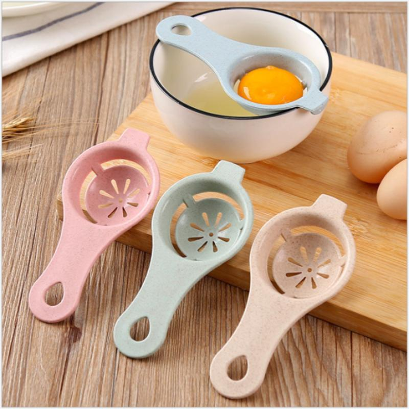 13*6cm Plastic Egg Separator White Yolk Sifting Home Kitchen Accessories Chef Dining Cooking Kitchen Gadgets Kitchenware Egg Dividers