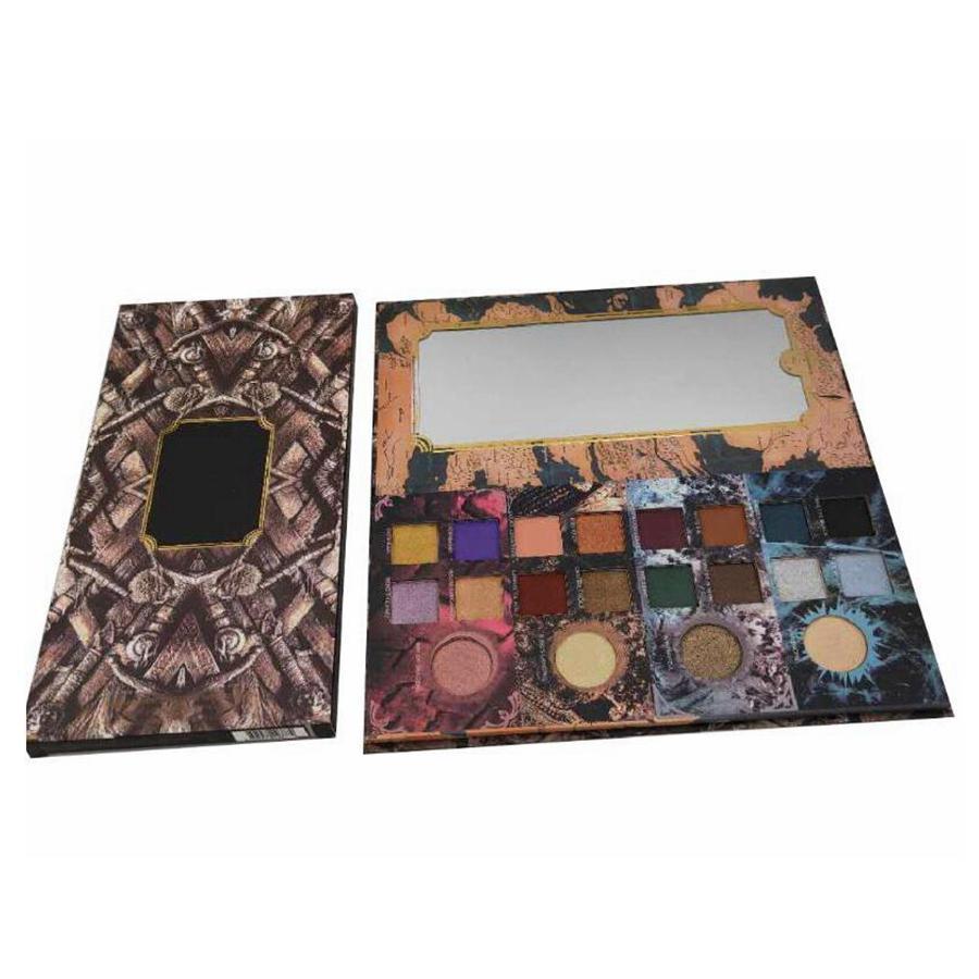 20colors Eyeshadow Palette Glitter Shimmer Matte Pérola Pallete Cosméticos Eyeshadow Palette de Maquiagem Ferramentas RRA1414
