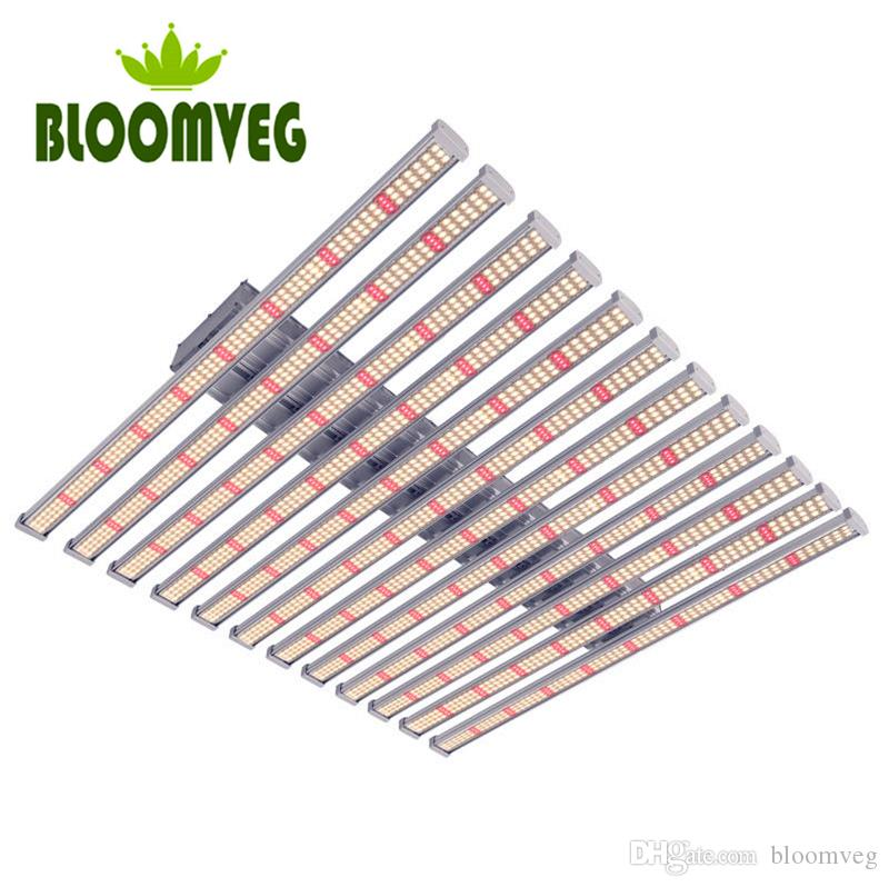 dimming device 12bars 960w full spectrum Samsung led grow light bars for indoor growth and bloom