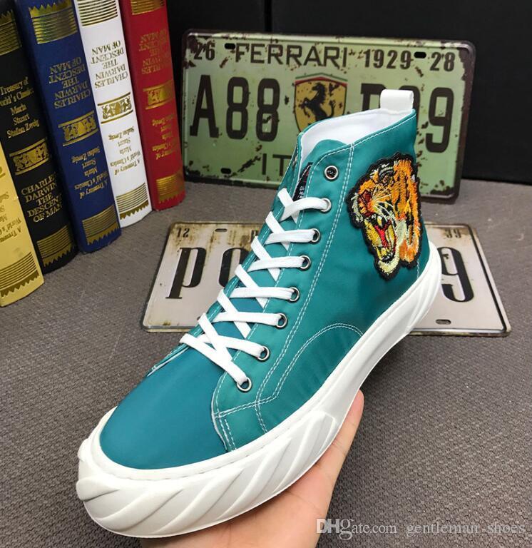 Leader Show мужская повседневная обувь Удобная мужская модная обувь Хип-хоп вышивка Уличные кроссовки для мужчин Досуг Квартиры Обувь Zapatillas 92