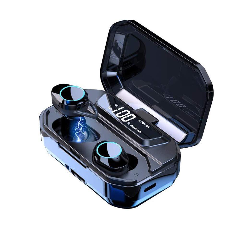 Dropship TWS Bluetooth Earphone 9D Stereo Wireless Earphones IPX7 Waterproof Earphones 3300mAh LED Smart Power Bank Phone Holder