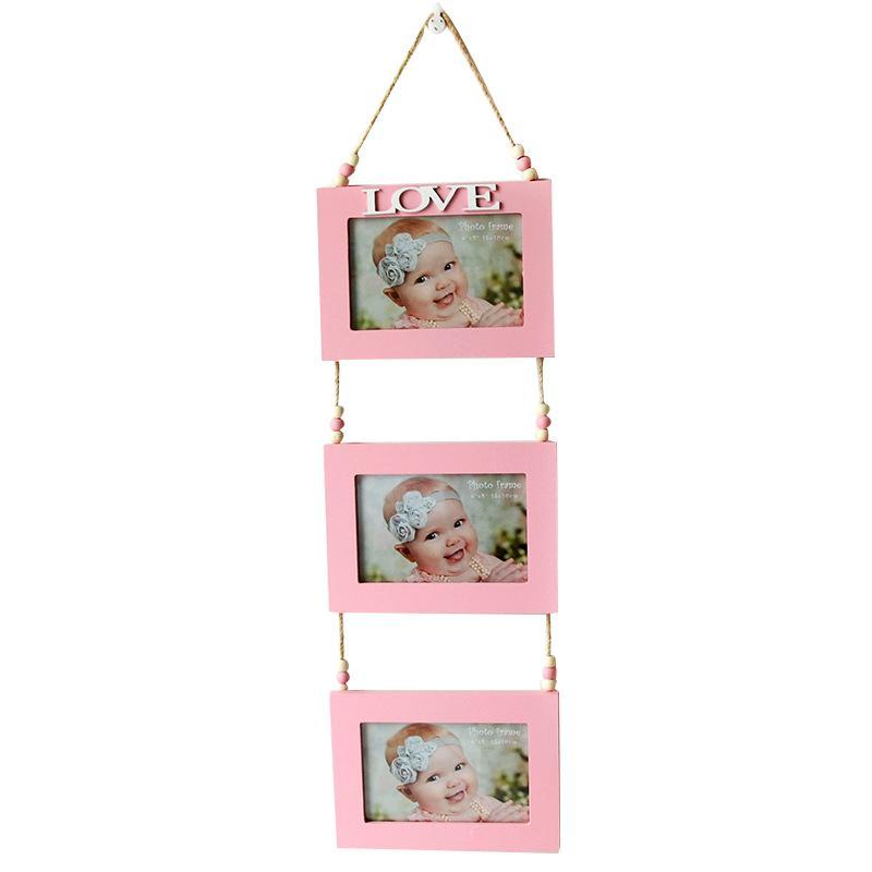 DIY 홈 벽 아이들 사진 사진 신생아 기념 사진 프레임 아이 사진 프레임 사랑 어린이 최고의 선물을 표시