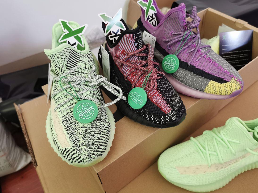 Kil Gerçek Formu yecheil 3M Dalga Ayakkabılar sneakers6a2d # og lüks tasarım erkekler kadınlar V2 zebra statik yecheil krem susam kanye batı
