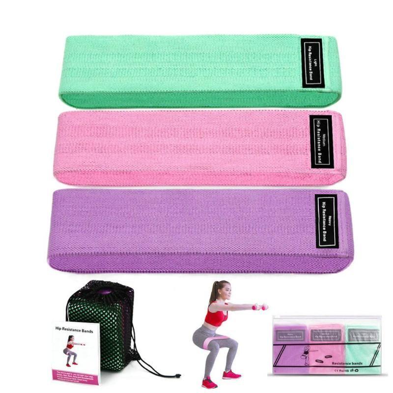 3 Livello di gomma fitness Bands resistenza Bands Expander gomma per il fitness fascia elastica For Band Training Mini