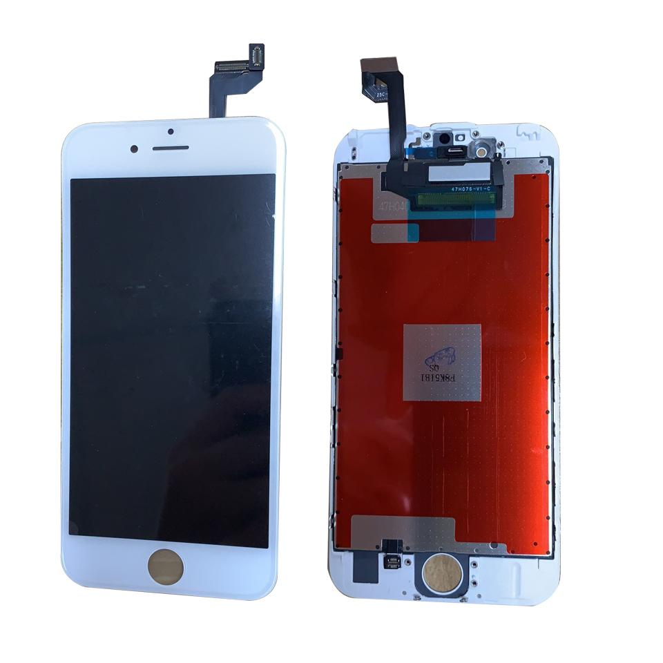 Grade A quality LCD screen for iphone 6s 4.7inch Touch Digitizer screen Assembly Repair No Dead Pixels 100% Tested black and white colors