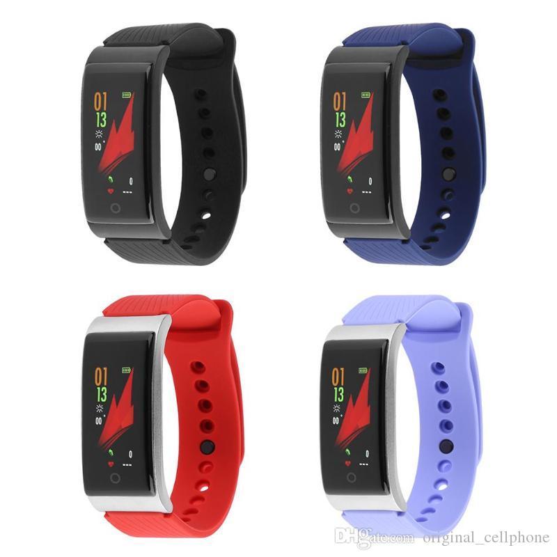 F4 Smart-Armband-Blutdruck-Puls-Monitor-Smart-Uhr-wasserdicht Bluetooth Pedometer Sporting Tracker Armbanduhr für iOS Android