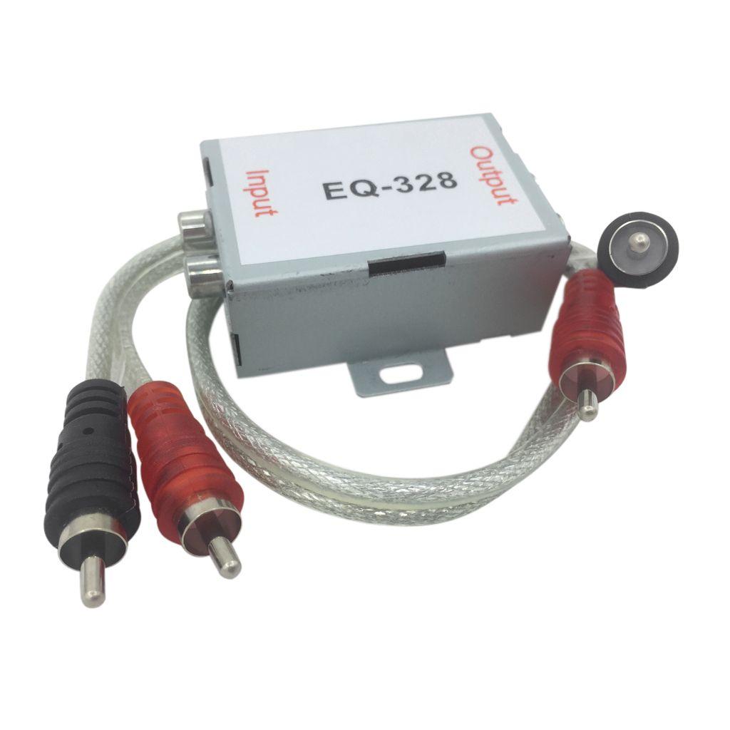 Universal Stereo cabeza del coche de audio RCA Amplificador supresor del ruido de aislador reductor de filtro