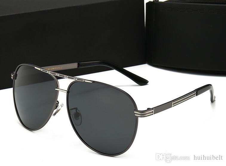 2020 nuovi occhiali da sole di lusso occhiali da sole firmati Glass per la Mens adumbral occhiali UV400 con la scatola marca di alta qualità P 4 colori 8866