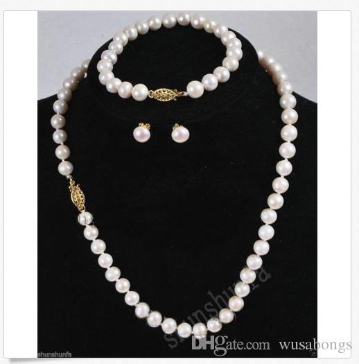 collier de perle 7/8 mm