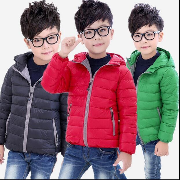 Kız Erkek Parka Dış Giyim Kapüşonlular Puffer Coat 2020 marka Bebek Kış Ceketler Işık Çocuk Beyaz Aşağı Ördek Coat Bebek Ceket