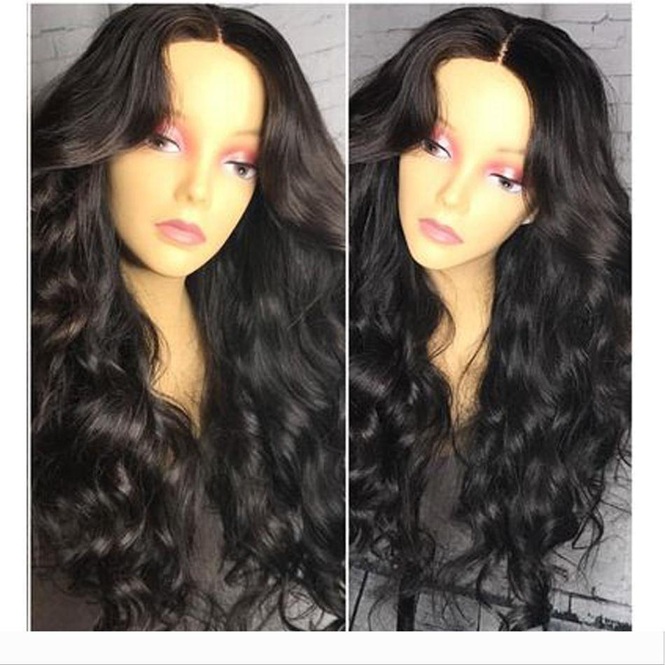 Glueless 360 lace frontal wig loose wave 180% density pre plucked 360 lace wig with baby hair DHL free shipping