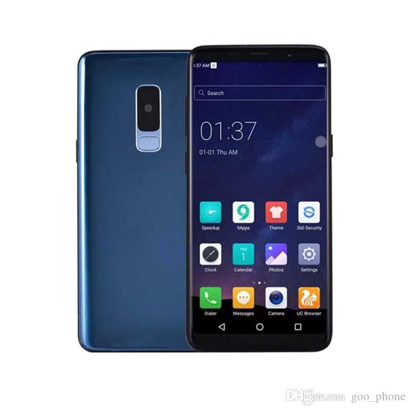 Entriegelte Goophone i11 12 pro max + Face ID 1GB RAM 4GB / 8GB / 16GB Rom anzeigen 4G lte 16MP Kamera des Android-3G-Mobiltelefon-Grün Tag Kamera16 MP
