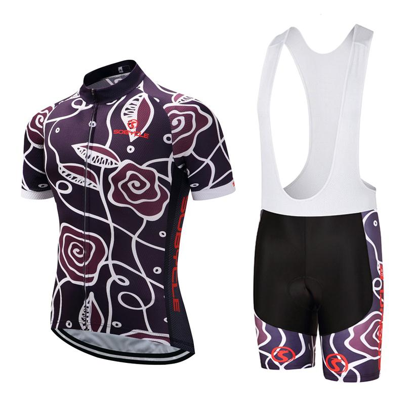 2018 Original Romantic Rose Ciclismo vestir a camisa da bicicleta roupas Ropa Ciclismo Quick Dry Mens bicicleta mangas curtas Ciclismo Jersey