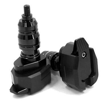 CNC мотоциклов Рама Slider Краш протектор для ZF-R3 15-16 R3 Модифицированный шт Черный