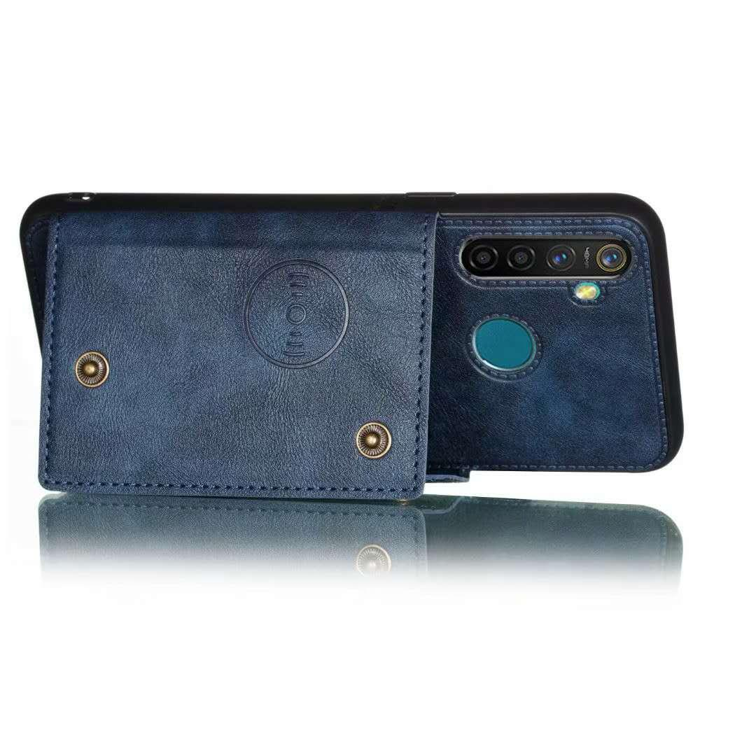 Free Shipping Magnetic PU Leather Flip Wallet Mobile Accessory Cell Phone Back Case for Samsung Galaxy A10 A20 A30 A40 A70