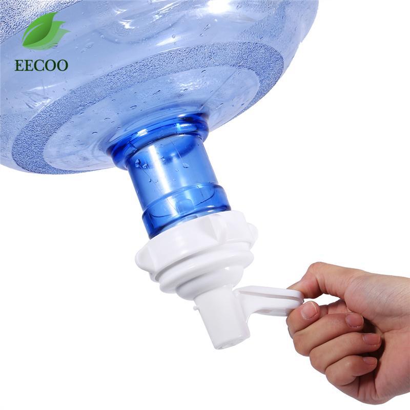 8 millimetri di acqua Discussione Zipolo bottiglia sostituzione Top rubinetto valvola automatica per l'acqua bianca bere rubinetto di acqua vite Tap rubinetto erogatore