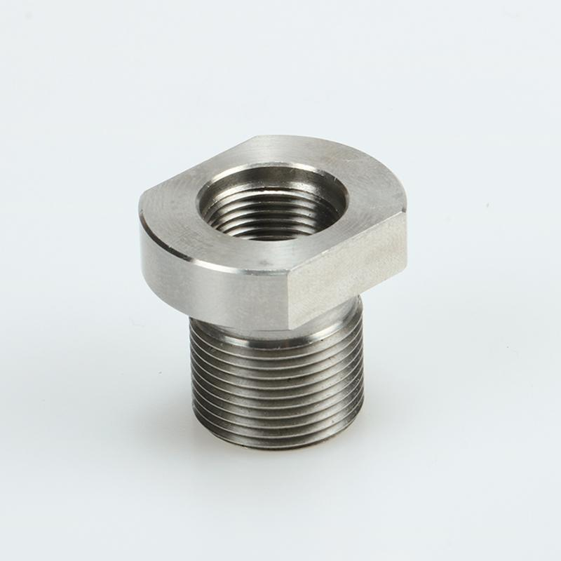 5/8-24 Male to 1/2-28 Female Thread Adapter Stainless Steel Suppressor Adapter, Shipping From USA