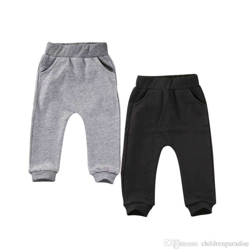 Cute Cat Baby Boys Girls Pants Cotton Warm Casual Trousers Harem Pants Bottoms Cartoon Warm Clothes