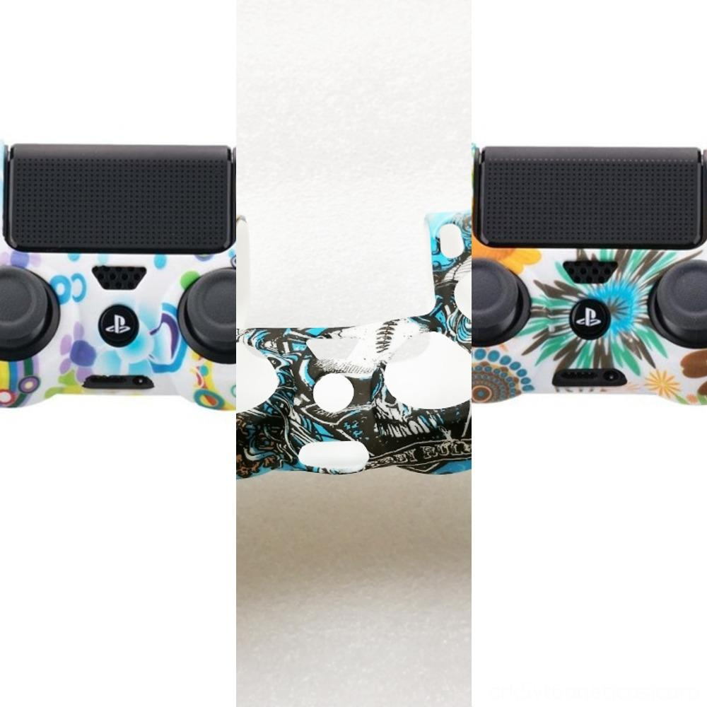FD6b6 Für Plating Frontgehäuse Shell-Fall-Abdeckung Ersatzdualshock PlayStation 4 PS4-Controller