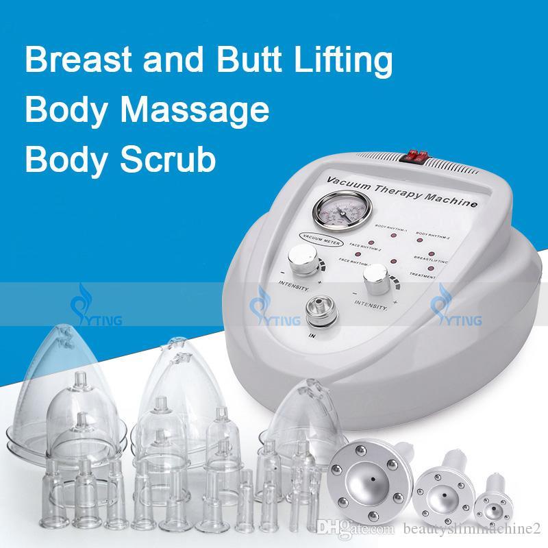 فراغ العلاج بالتدليك آلة توسيع مضخة الثدي محسن كأس مدلك الجسم تشكيل العناية بالثدي بات رفع جهاز لشد الجمال