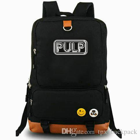 Different Class backpack Pulp Britpop day pack Rock band style school bag Fans packsack Laptop rucksack Sport schoolbag Outdoor daypack