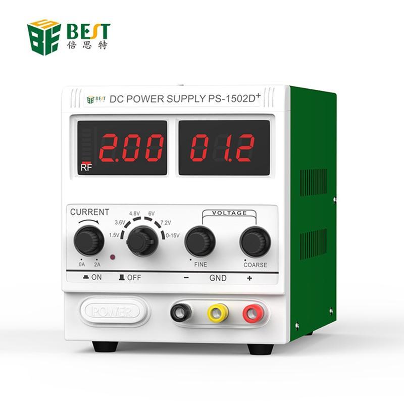 BST-1502DD Handy-Computer-Reparatur-DC Einstellbare Stromversorgung Spannungsregler geregelte Stromversorgung 0-15V 2A 220V / 110V