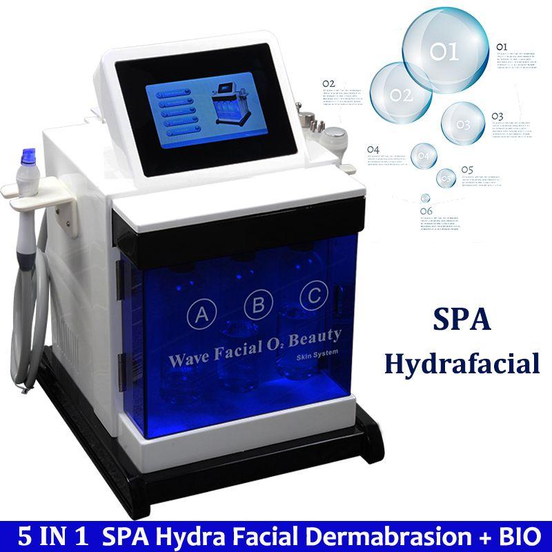 Equipamento facial da casca do Dermabrasion da água do Hydra Equipamento portátil da casca do jato da água de Hydra Equipamento hidráulico da pele do levantamento da pele de Microdermabrasion dos termas